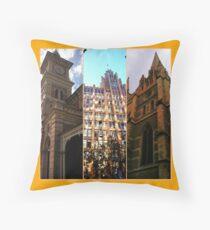 Grand old facade 2 Throw Pillow