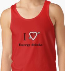 l love energy drinks heart  T-Shirt
