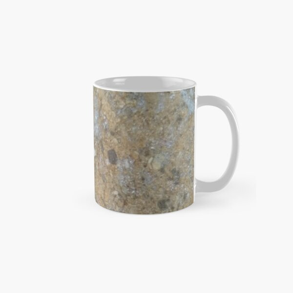 Gold & Silver Sand Rock Design Classic Mug