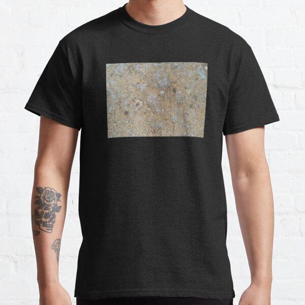 Gold & Silver Sand Rock Design Classic T-Shirt