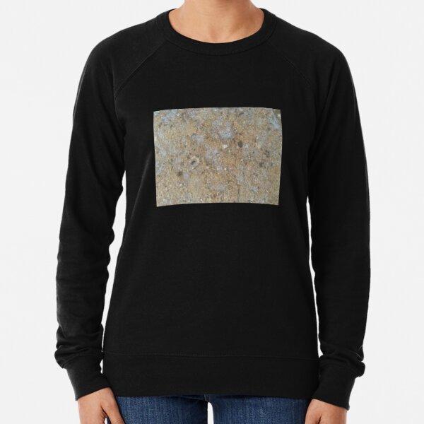 Gold & Silver Sand Rock Design Lightweight Sweatshirt