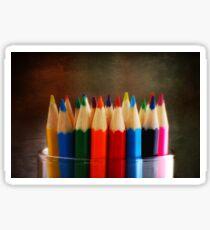 Color the world Sticker