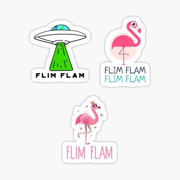 Flim Flam Sticker Pack Sticker