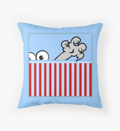 The Claw VRS2 Throw Pillow