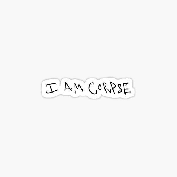 Corpse husband handwriting  Sticker