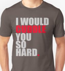 cuddle (red/gry) T-Shirt