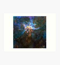 Expanse of God's Universe | Galaxy Mathematix Art Print