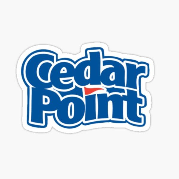 Cedar Point Logo Sticker
