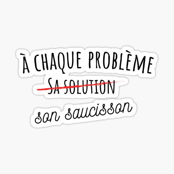 Stickers sur le thème Saucisson   Redbubble