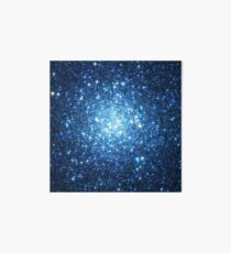 Blue Star Cluster Triangle | Fresh Universe Art Board