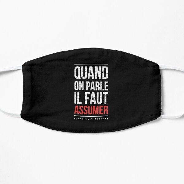 """booba vs kaaris T-Shirt Booba: """" Quand On Parle Il Faut Assumer """" Masque sans plis"""