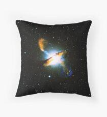 Centaurus A Nebula | Galaxy Mathematix Throw Pillow