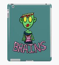 Zombie Eating Brains iPad Case/Skin