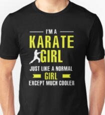 Karate Girl is Cooler Unisex T-Shirt
