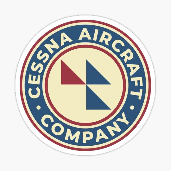 Cessna Aircraft Company - Custom Vintage Logo Sticker