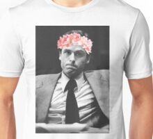 Ted Bundy Flower crown collection. Unisex T-Shirt
