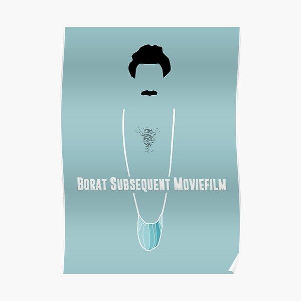 Borat Subsequent Movie - Alternative Movie Poster Poster