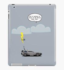 Back to the Future - 1.21 GW iPad Case/Skin