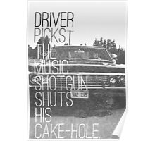 Driver picks the music... Poster