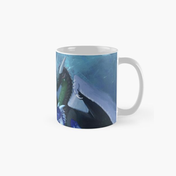 Arctic, Foeslayer, Whiteout, Darkstalker Family - Wings of Fire Classic Mug