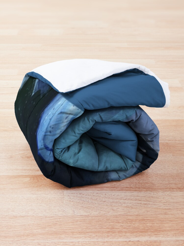 Alternate view of Arctic, Foeslayer, Whiteout, Darkstalker Family - Wings of Fire Comforter