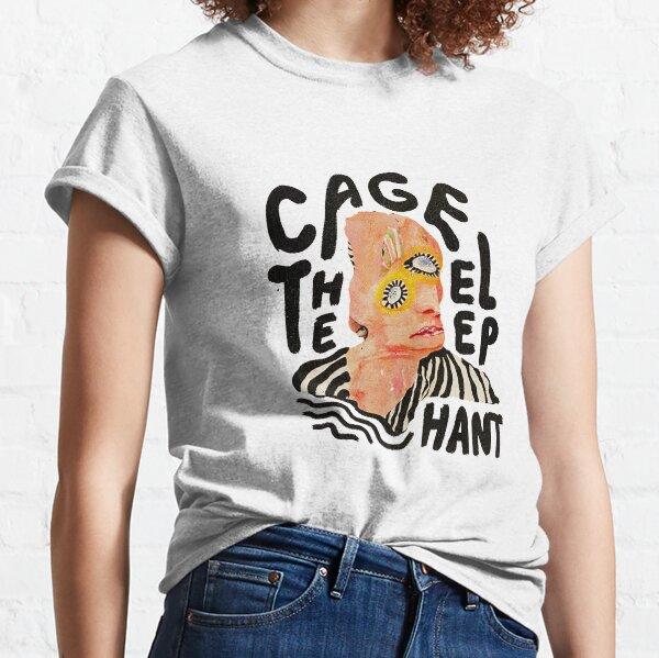 enjaula el elefante Camiseta clásica