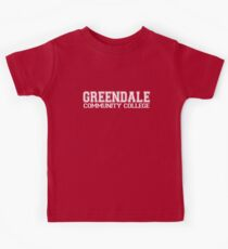 GREENDALE College Jersey (white) Kids Tee