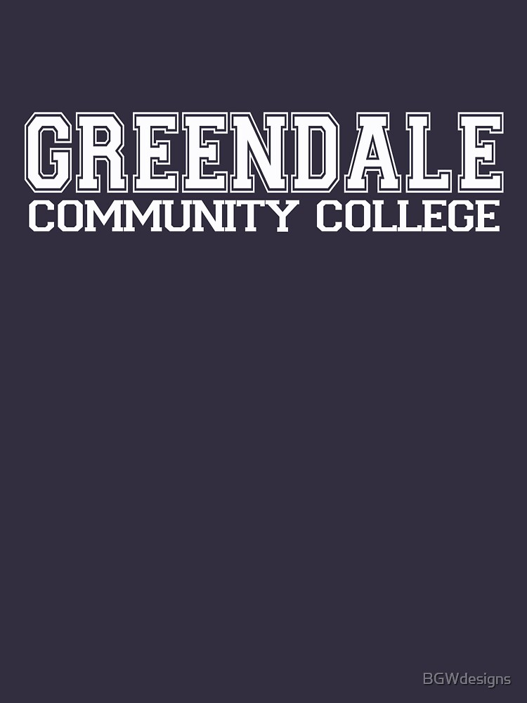 TShirtGifter presents: GREENDALE College Jersey (white) | Unisex T-Shirt