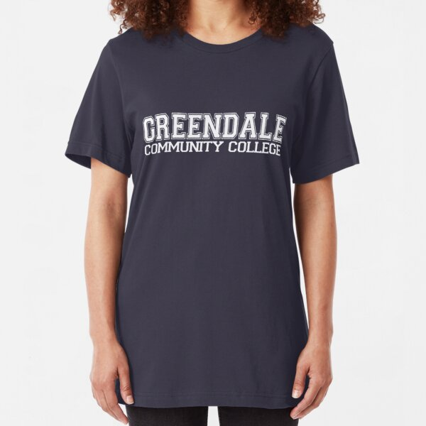 GREENDALE College Jersey (white) Slim Fit T-Shirt