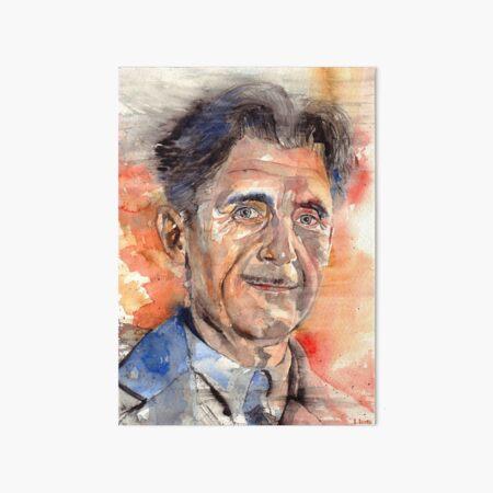 George Orwell Portrait Art Board Print