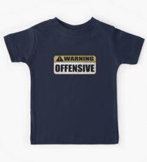 WARNING: Offensive - As seen in Lockout Kids Tee