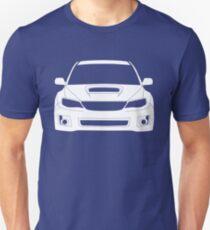 Volle Frontal Tee - Subaru Impreza WRX STI 08 - 12 Bekleidung Design Slim Fit T-Shirt