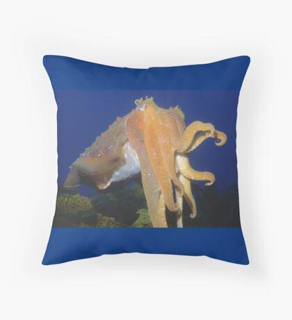 Giant Australian Cuttlefish Throw Pillow