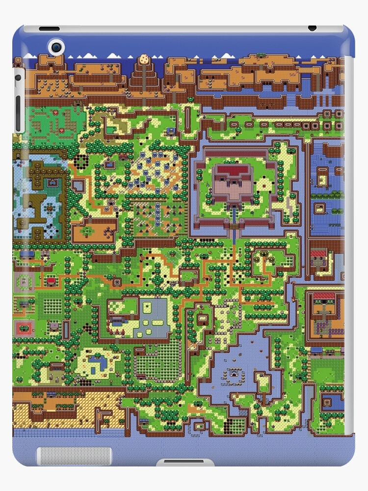 Zelda Link S Awakening World Map Ipad Cases Skins By Pham