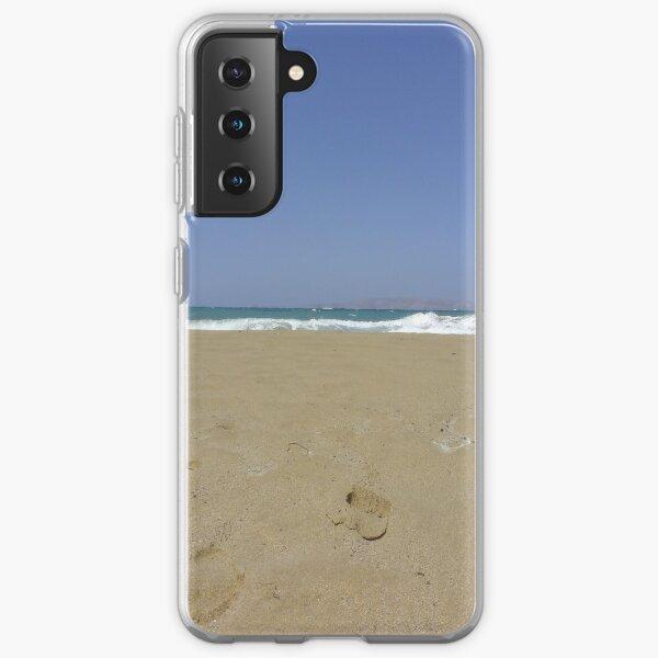 Northern Crete Beach Samsung Galaxy Soft Case