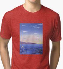 Dreamy Sunset Tri-blend T-Shirt