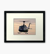 Huey Helicopter Framed Print
