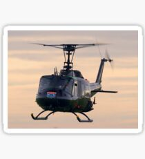 Huey Helicopter Sticker