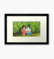 Spirited Away - Studio Ghibli Framed Print