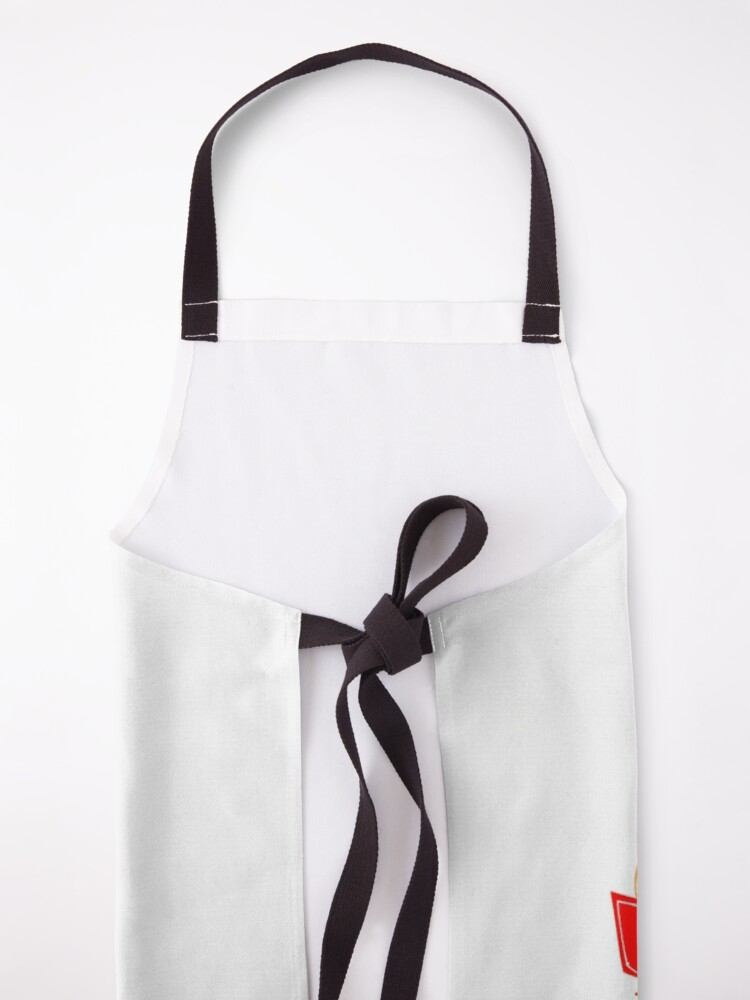 Alternate view of Hot Cocoa on a winter day Apron