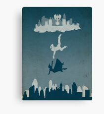 Bioshock Infinate - Solid Background Canvas Print