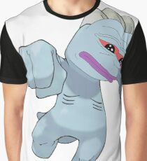 Machop Pepe Graphic T-Shirt