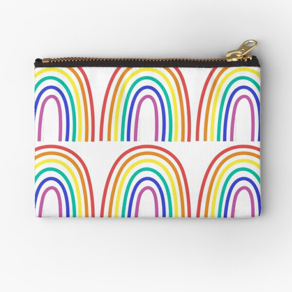 Have A Rainbow Day Zipper Pouch