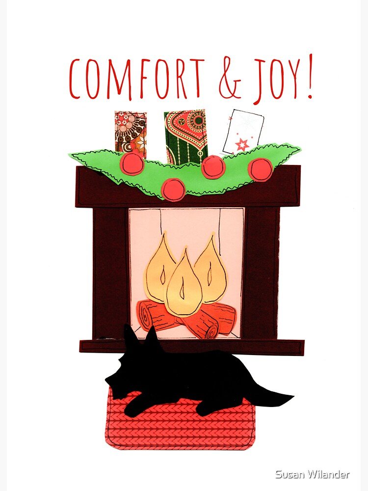 Christmas comfort by susanw