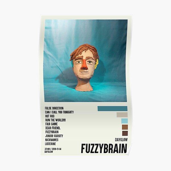 Fuzzybrain Dayglow Poster