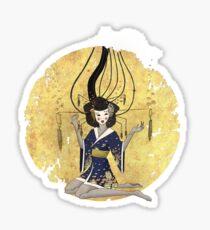 Goddess of Robotic Geishas Sticker