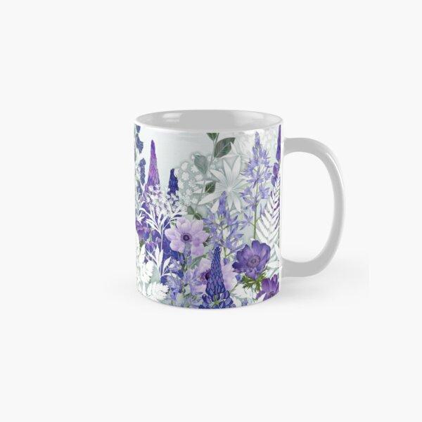 Blue Flower Garden - Lupins, Anemones, Camassia, Ammi Classic Mug