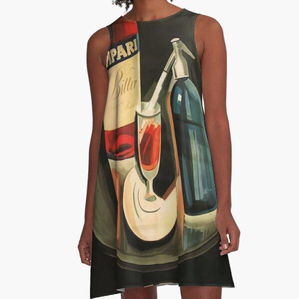 Aperitivo Campari A-Line Dress