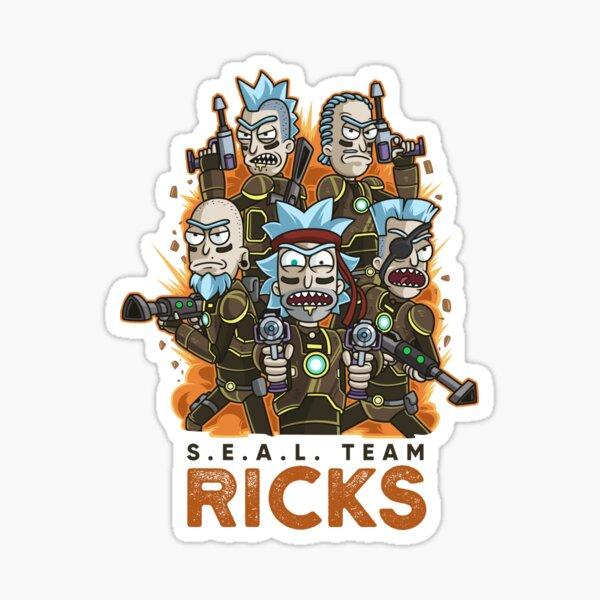 Die elitärste Streitmacht, über die die Zitadelle von Ricks verfügt Sticker