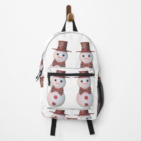 Snowmen pattern Backpack